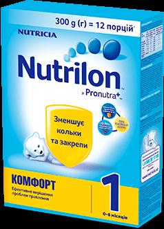 Nutrilon Комфорт 0-6 місяців