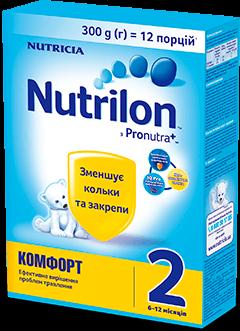 Nutrilon Комфорт 6-12 місяців